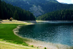 Lake in nature Stock Photography