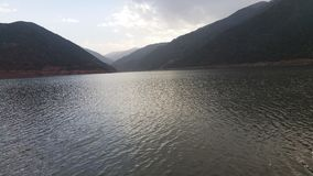 Lake & nature. Beautiful lake between mountains Royalty Free Stock Images