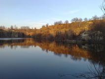 Lake nature Stock Image