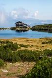 Lake near Bezbog ski station Royalty Free Stock Photo