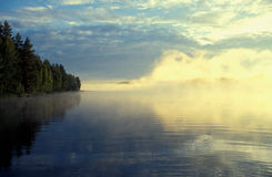 Lake near Kuopio Royalty Free Stock Photography