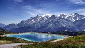 Lake Near Mountain Landscape Photo Royalty Free Stock Photography