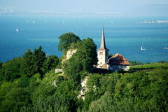 Lake Neuchatel Royalty Free Stock Image