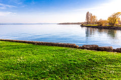 Lake Neuchatel Royalty Free Stock Photos