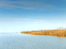 Lake Neusiedl Stock Image