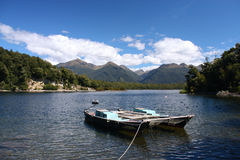 Lake in New Zealand Stock Images