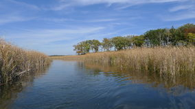 Lake. Nice lake somewhere in wisconsin usa stock photography