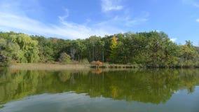 Lake. Nice lake somewhere in wisconsin usa royalty free stock photography