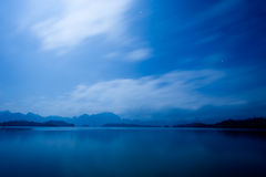 Lake in night Royalty Free Stock Photography