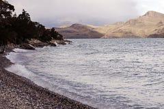 Lake Nordenskjold Stock Images
