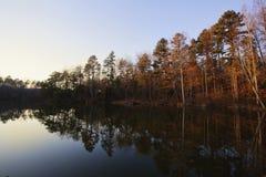 Lake Norman. Sunset on Lake Norman, North Carolina Stock Images