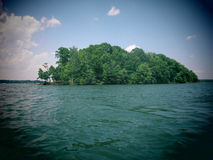 Lake Norman Island Royalty Free Stock Image