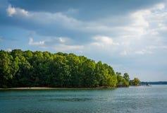 Lake Norman, at Jetton Park, in Cornelius, North Carolina. Stock Photo