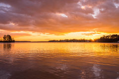 Lake Norman Sunset 2 Stock Photo