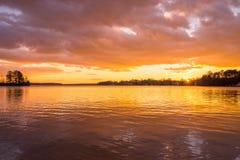 Lake Norman Sunset 2 Stock Photo