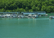 Lake Norris formed by the Norris Dam on the River Clinch in the Tennessee Valley USA Stock Images