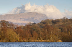 Lake in north wales Royalty Free Stock Images