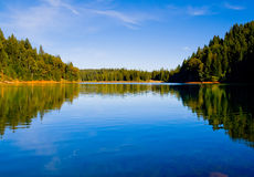 Lake in Northern California Royalty Free Stock Photos