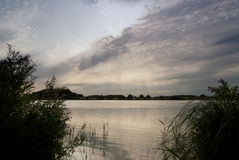 Lake in Northern Germany Stock Photography