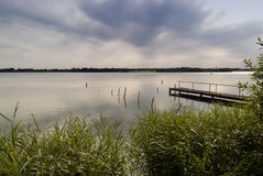 Lake in Northern Germany Royalty Free Stock Photography