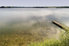 Lake in Northern Germany Royalty Free Stock Image