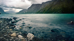 Lake in Norway Stock Photo