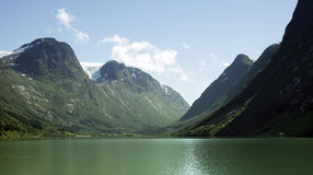 Lake in Norway Royalty Free Stock Photo