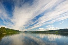 Lake in Norway Stock Images