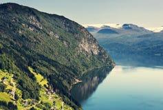Lake in Norway Royalty Free Stock Photo
