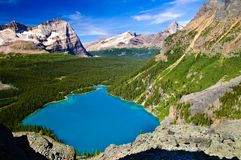 Lake O'Hara Stock Images