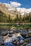 Lake O`Hara Lodge Royalty Free Stock Photography
