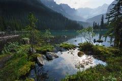 Lake O'Hara, Yoho National Park, Canadian Rockies, British Colum. Bia Royalty Free Stock Photo