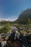 Lake O'Hara, Yoho National Park, Canadian Rockies, British Colum. Bia Royalty Free Stock Images