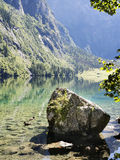 Lake Obersee. In Berchtesgaden, Bavaria, Germany Stock Image