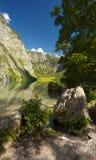 Lake of Obersee, Germany Royalty Free Stock Photos