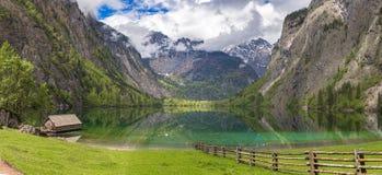 Lake Obersee. Near Berchtesgaden, Bavaria, Germany Royalty Free Stock Photos