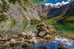 Lake Obersee. Near Berchtesgaden, Bavaria, Germany Royalty Free Stock Image