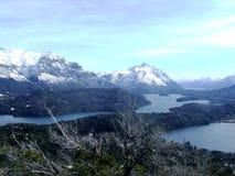 Lake och berg Royaltyfri Fotografi