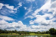 lake och sky Royaltyfri Fotografi
