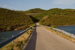 Lake Odeleite in Portugal Stock Photos