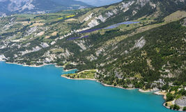 Lake Of Serre-Poncon (French Alps) Royalty Free Stock Photography