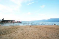 lake ohrid,albania Stock Images