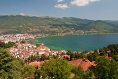 Lake Ohrid Stock Photography