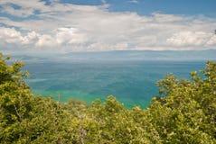 Lake Ohrid. From Kalista, Macedonia Stock Photography