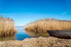 Lake Ohrid Macedonia Stock Image