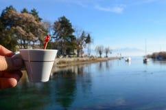 Lake ohrid, macedonia Royalty Free Stock Photos