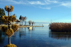 Lake ohrid, macedonia Stock Photos