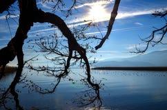 Lake ohrid, macedonia Royalty Free Stock Photography