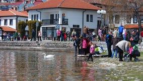 Lake Ohrid, Macedonia Stock Images