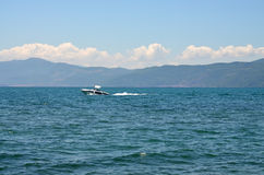 Lake Ohrid,Macedonia Royalty Free Stock Photo